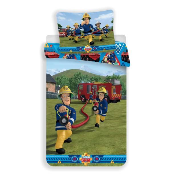 Brandweerman Sam dekbedovertrek 140x200 - Blussen