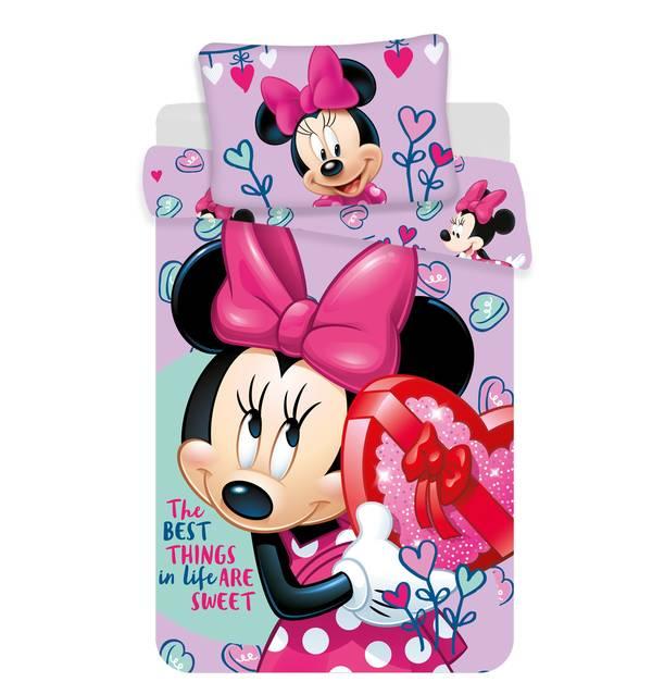 Minnie Mouse dekbedovertrek 140x200 - Sweet