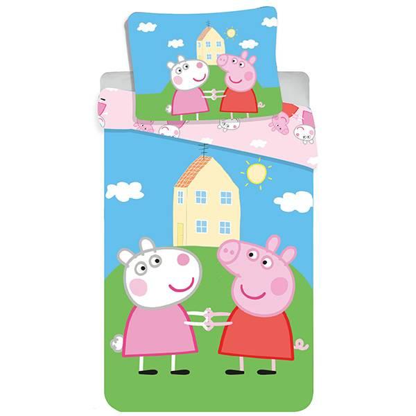 Peppa Pig dekbedovertrek 100x135