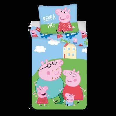 Peppa Pig dekbedovertrek 140x200 - Oink