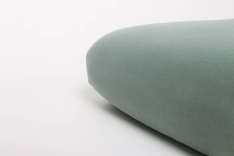 Nappiez Jersey hoeslaken 70x150 - Groen