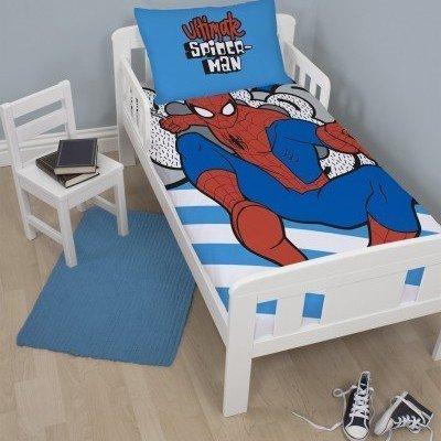 Spiderman dekbedovertrek 120x150 - Hang