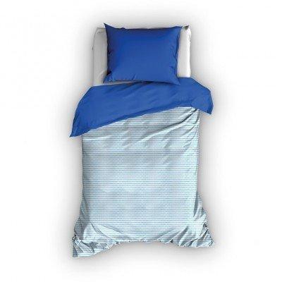 Billie dekbedovertrek 120x150 - Blauw-Kobalt