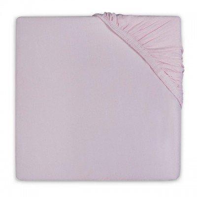 Katoenen hoeslaken 75x150 - Vintage Pink