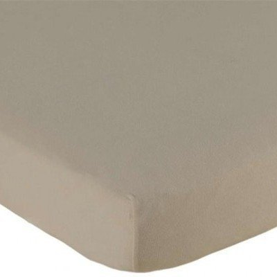 Jersey hoeslaken 70x150 - Taupe