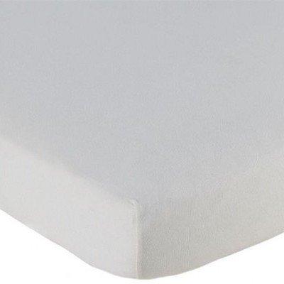 Jersey hoeslaken 70x150 - Off White