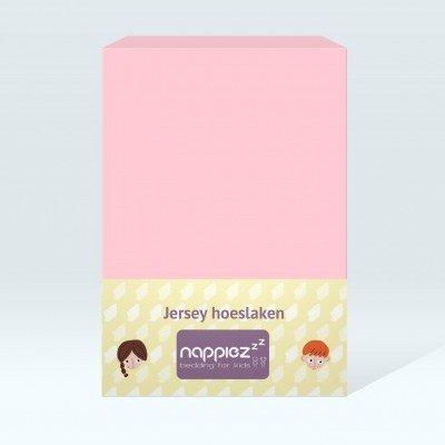 Nappiez jersey hoeslaken 70x150 - Licht Roze