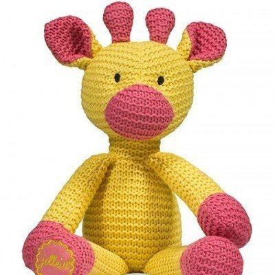 Giraf Knuffel - Geel