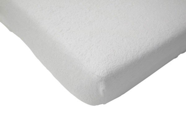 Badstof hoeslaken 60x120 - Wit