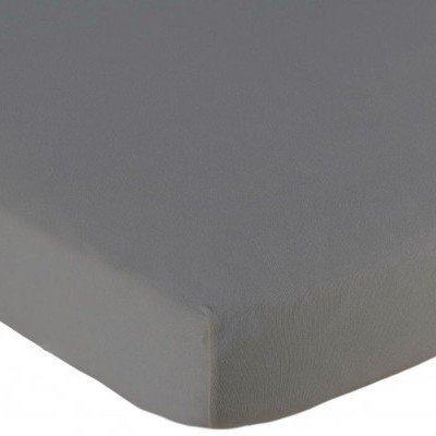 Jersey hoeslaken 60x120 - Grijs