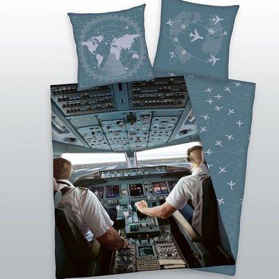 Cockpit dekbedovertrek 140x200