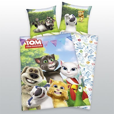 Talking Tom and Friends dekbedovertrek 140x200