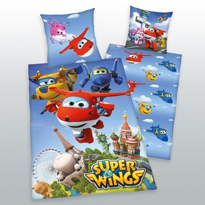 Super Wings dekbedovertrek 140x200