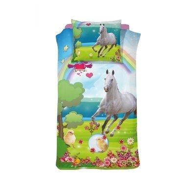 Paard dekbedovertrek 140x200 - Mysty