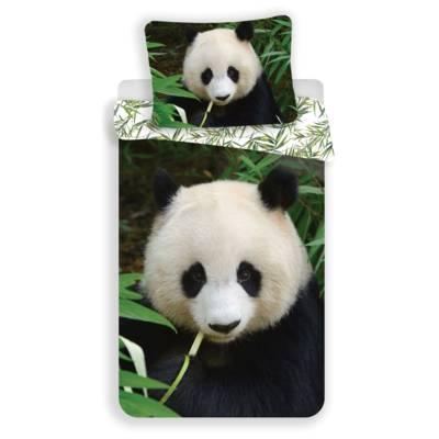 Panda dekbedovertrek 140x200