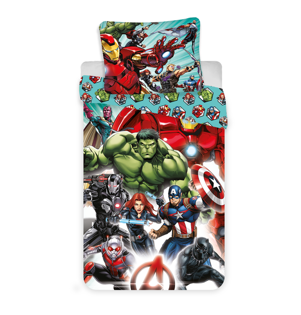 Avengers dekbedovertrek 140x200 - Comics