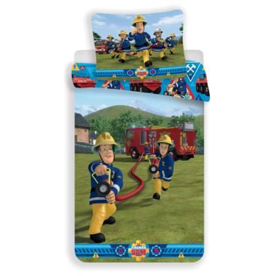 Brandweerman Sam dekbedovertrek 140x200 - Blussen | HiT Entertainment