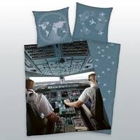Vliegtuig dekbedovertrek