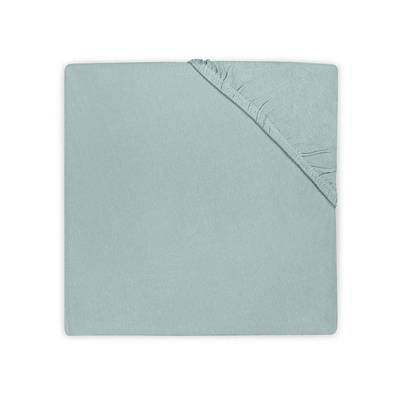 Katoenen hoeslaken 60x120 - Soft Green