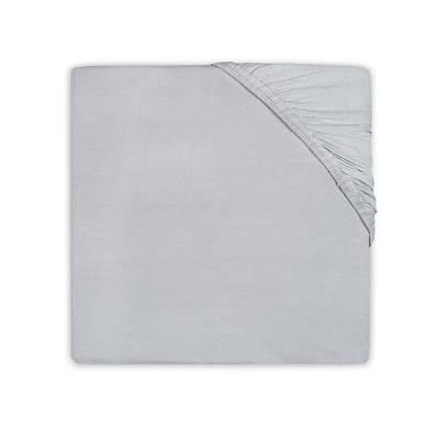 Jersey hoeslaken 60x120 - Soft Grey