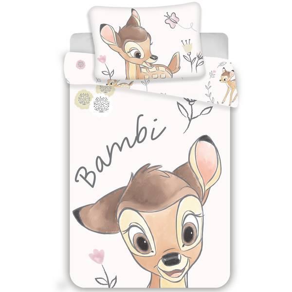 Bambi dekbedovertrek 100x135