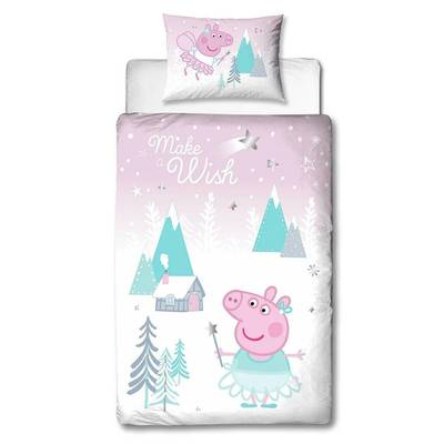 Peppa Pig dekbedovertrek 120x150 - Sugarplum
