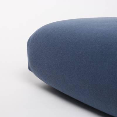 Nappiez Jersey hoeslaken 90x200 - Blauw Indigo