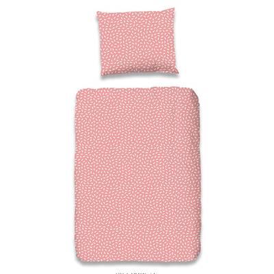 Lilian dekbedovertrek 120x150 - Roze