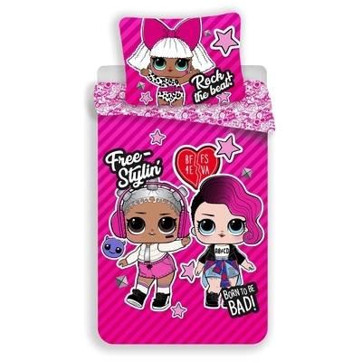 L.O.L. Surprise dekbedovertrek 140x200 - Pink