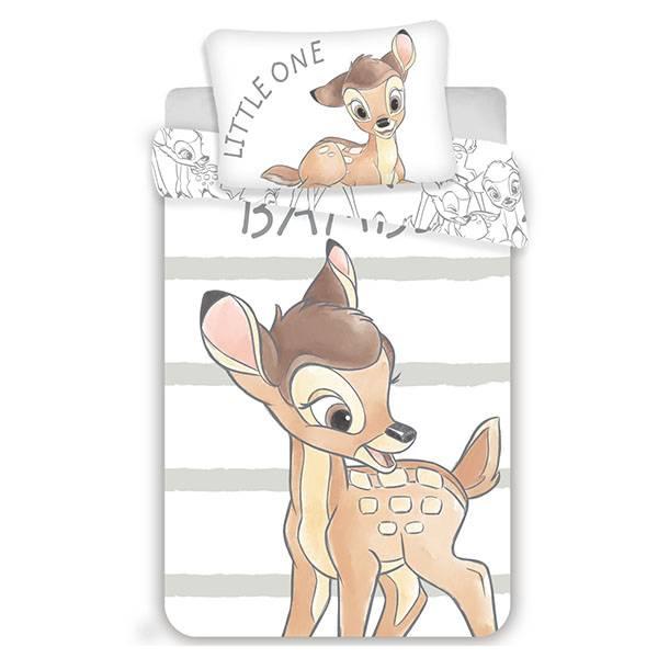 Bambi dekbedovertrek 100x135 - Stripe
