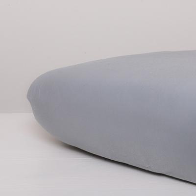 Nappiez Jersey hoeslaken 70x150 - Licht Grijs