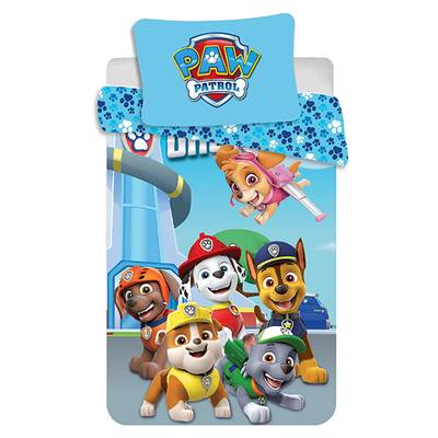 Paw Patrol dekbedovertrek 100x135 - One Team
