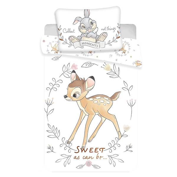 Bambi dekbedovertrek 100x135 - Sweet