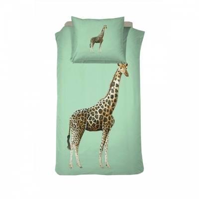 Giraf dekbedovertrek 140x200 - Willa Green