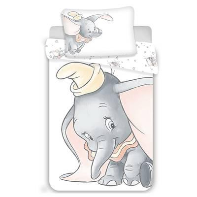 Dumbo dekbedovertrek 100x135 - Grijs