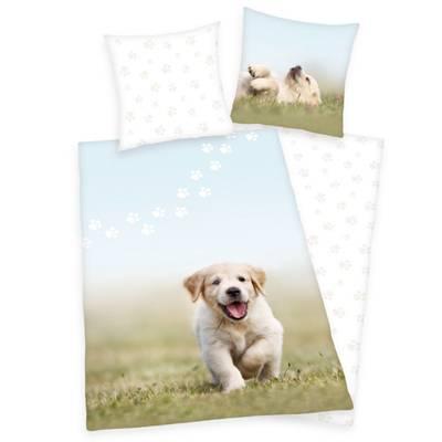 Puppy dekbedovertrek 140x200 - Welpe