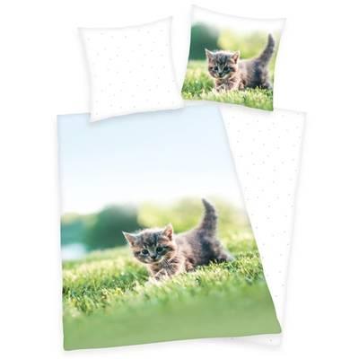 Kitten dekbedovertrek 140x200 - Katzchen