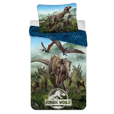 Jurassic World dekbedovertrek 140x200 - Forest