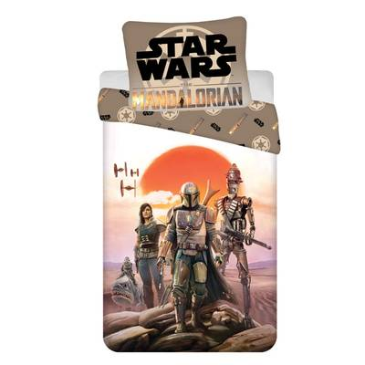 Star Wars dekbedovertrek 140x200 - Mandalorian