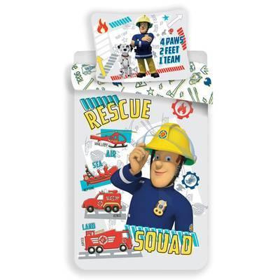 Brandweerman Sam dekbedovertrek 100x135 - Rescue Squad