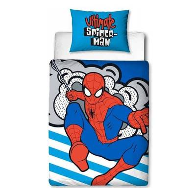 Spiderman dekbedovertrek 120x150 - Hang