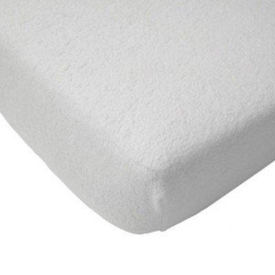 Badstof hoeslaken 75x150 - Wit