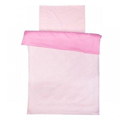 Licht roze dekbedovertrek 100x140
