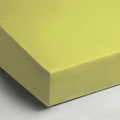 Katoenen hoeslaken 90x200 Lime | Day Dream