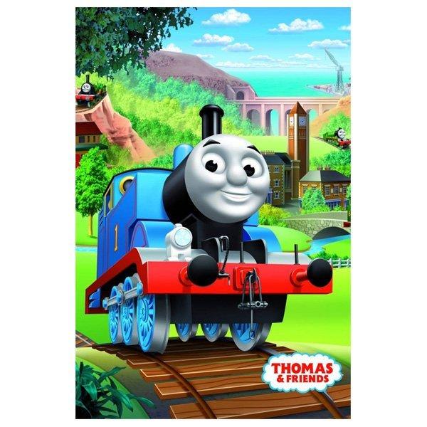 Thomas de trein fleece deken