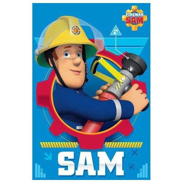 Fabulous Brandweerman Sam fleece deken | Koalabedding.nl &AM49