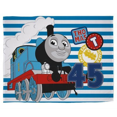 Thomas de Trein fleece deken - Patch