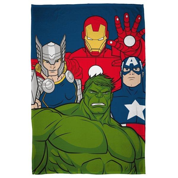 Avengers fleece deken