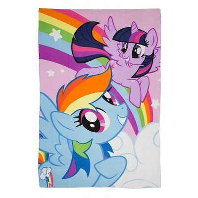 My Little Pony fleece deken