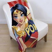 DC Super Hero Girls fleece deken